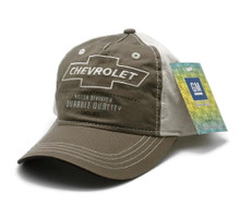 Hat - Chevrolet Unstructured Embroidered Ball Cap FREE SHIPPING