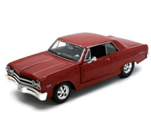 1965 Chevrolet Malibu SS MAISTO SPECIAL EDITION Diecast 1:24 Scale Red
