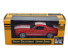 1967 Shelby GT350 SHELBY COLLECTIBLES LEGEND SERIES Diecast 1:43 Scale Red