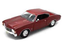 1971 Chevrolet Chevelle SS 454 MAISTO SPECIAL EDITION Diecast 1:18 Scale Crimson Red