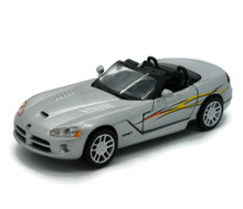 2003 Dodge Viper SRT/10 NewRay  Diecast 1:32 Scale Silver FREE SHIPPING