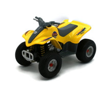 "ATV  4 Wheeler Superior / Sunnyside 5306 Diecast 5"" Yellow FREE SHIPPING"