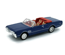 1966 Oldsmobile Cutlass 442 Convertible NEWRAY Diecast 1:43 Scale Blue