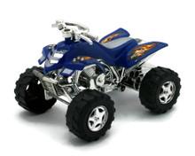 "ATV Friction Powered Plastic 4 1/4"" Model Blue"