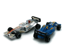 "Indy Car Pull Back Action with Sound 6 1/4"" Plastic Model Asst Colors"