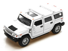 Hummer H2 SUV Maisto Diecast 1:46 Scale White FREE SHIPPING