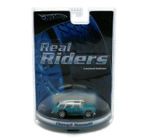 1955 Chevy Nomad HOT WHEELS REAL RIDERS Limited Edition Diecast 1:64 Scale