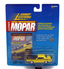 1970 Plymouth AAR CUDA JOHNNY LIGHTNING MOPAR MAGIZINE Diecast 1:64 FREE SHIP