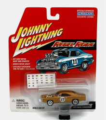 1970 Dodge Charger R/T Johnny Lightning REBEL RODS Diecast 1:64 Scale