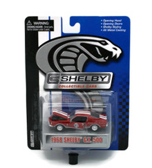 1968 Ford Shelby GT500 SHELBY COLLECTIBLES Diecast 1:64 Red FREE SHIPPING