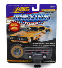 Johnny Lightning Dragsters '71 Dodge Challenger BIG DADDY DON GARLITS FREE SHIPPING
