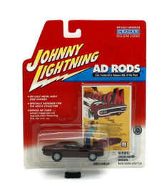 1971 Plymouth Road Runner Johnny Lightning AD RODS Diecast 1:64 Scale FREE SHIPPING