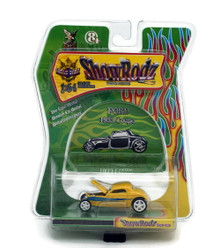 1933 Ford Coupe SHOW RODZ Diecast 1:64 Scale Yellow FREE SHIPPING