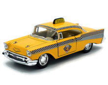 1957 Chevy Bel Air TAXI CAB KINSMART Diecast 1:40 Scale FREE SHIPPING