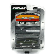 1971 Dodge Charger R/T Greenlight Muscle Car Garage Hobby Diecast 1:64 FREE SHIP