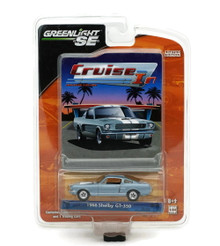 1966 Shelby GT350 Mustang Greenlight Cruise In LE Diecast 1:64 FREE SHIPPING