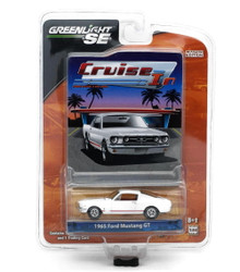 1965 Ford Mustang GT Greenlight Cruise In LE Diecast 1:64 FREE SHIPPING