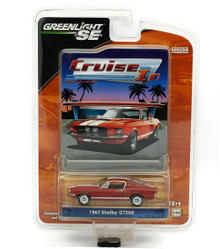 1967 Shelby GT500 Mustang Greenlight Cruise In LE Diecast 1:64 FREE SHIPPING