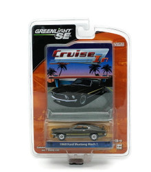1969 Ford Mustang Mach 1 GREENLIGHT CRUISE IN LE Diecast 1:64 FREE SHIPPING