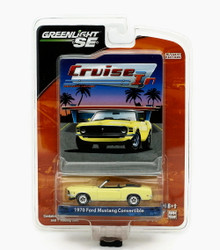 1970 Ford Mustang Convertible Greenlight Cruise In LE Diecast 1:64 FREE SHIPPING