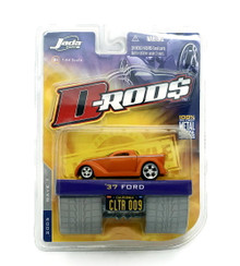 1937 Ford Custom Pickup Jada D-RODS Diecast 1:64 Scale FREE SHIPPING