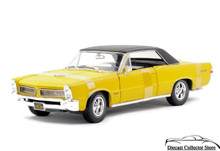 1965 Pontiac GTO MAISTO SPECIAL EDITION Diecast 1:18 Scale Yellow 31885