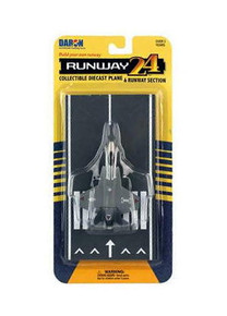 RUNWAY24 F-35 Lightning Joint Striker DARON Diecast Plane with Runway FREE SHIPPING