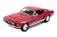 1967 Ford Mustang GTA Fastback MAISTO SPECIAL EDITION Diecast 1:18 Scale Red