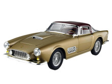 1955 FERRARI 410 SUPERAMERICA Hot Wheels ELITE Limited Edition Diecast 1:18 Gold