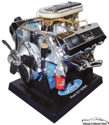 Ford 427 SOHC Engine 1.6 Scale Die-Cast Motor 84025
