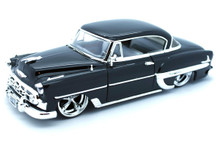 1953 Chevy Bel Air DUB City OLD SKOOL Jada Diecast 1:24 Scale Black