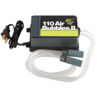 Marine Metal A-2 110 Air Bubbles II Pump 110V AC W/Tubing 2 Air Stones & Wgts