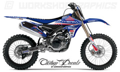 2016 Josh Coppins Racing Replica YZF 250 450 - Graphics Kit