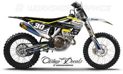 Husqvarna Race Graphics Kits