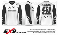 Elite White - EXS Race Jersey