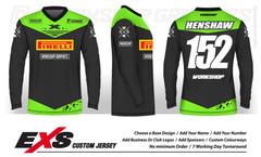 Custom Sublimated Race Jerseys