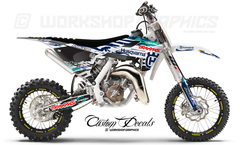 Licensed Husqvarna Graphics