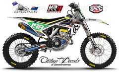 Husqvarna GNCC Race team Graphics kit