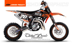 KTM 50 Hek Clothing - Graphics Kit