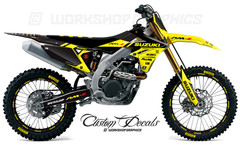 2018 RMZ 450 MX Graphics Kit