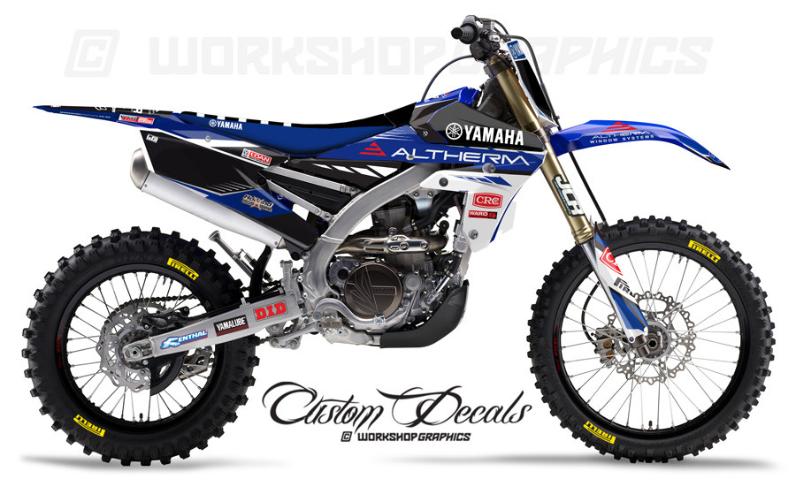 Yamaha JCR Team Graphics Kit