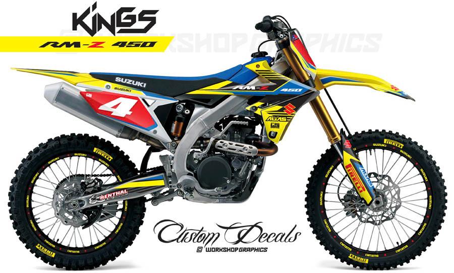 2018 RMZ 450 Graphics Kit
