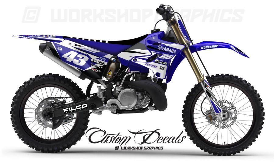 Yamaha Yz  Custom Graphics