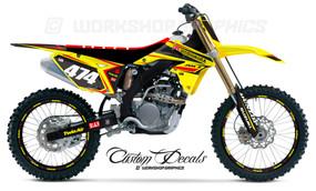 RMZ 250 MX Graphics