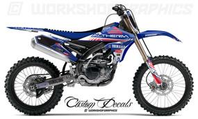 2016 Josh Coppins Racing Replica YZF 250 450 - Graphics Kit