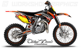 KTM 85 MX Graphics