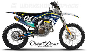 Husqvarna Race Team Graphics Kits