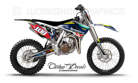 Husqvarna 85 Race Graphic