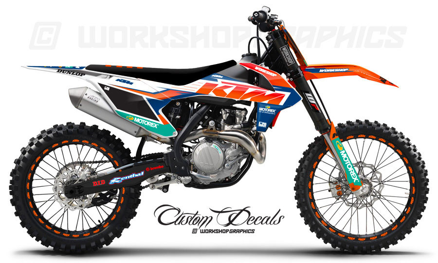 KTM 2017 Graphics Kit
