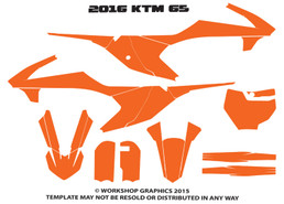 2016 KTM 65 Template